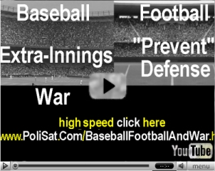 Video-- Baseball, Football and War