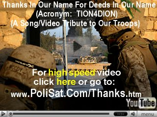 Video Tribute to Our Troops