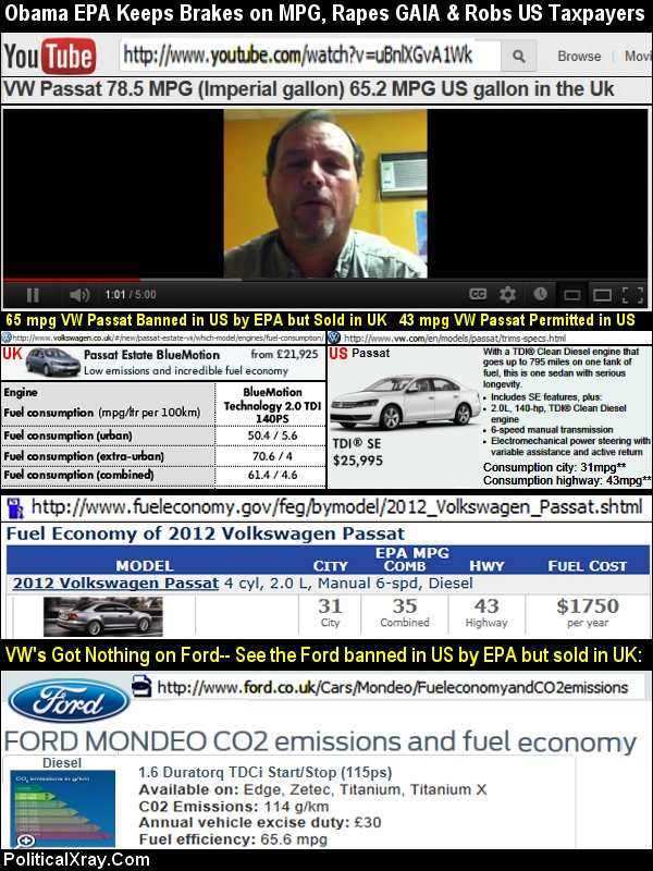 webcommentary tm roman empire epa inspired obama epa ban on highest mpg fords vw passats and. Black Bedroom Furniture Sets. Home Design Ideas
