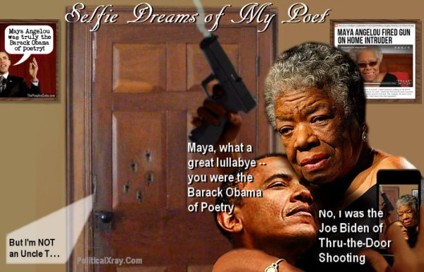 Maya Angelou was truly the Barack Obama of poetry