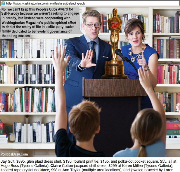 Jay Carney and Claire Shipman disappoint their kids by explaining they