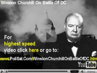 Image for Video Winston Churchill on Battle of DC